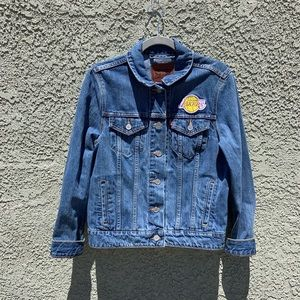 Levi's Lakers NBA Denim Trucker Jacket